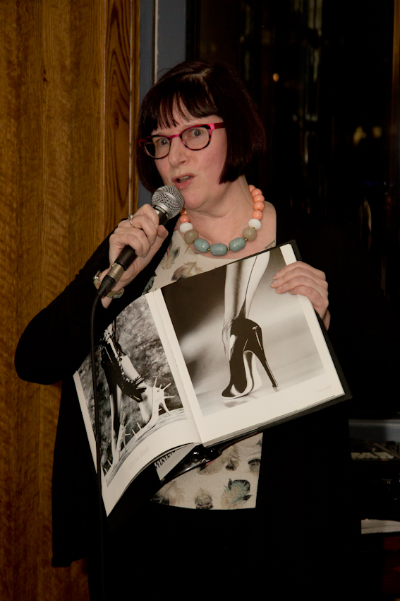 Beverley at The Story Party, March 11. Photo: Rita Abreu